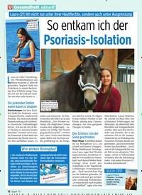 Titelbild der Ausgabe 22/2019 von So entkam ich der Psoriasis-Isolation. Zeitschriften als Abo oder epaper bei United Kiosk online kaufen.