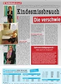 Titelbild der Ausgabe 24/2019 von Es geschah in Heimen, Schulen, Freizeiteinrichtungen –und die Betroffenen leiden noch heute: Kindesmissbrauch in der DDR: Die verschwie gene Schuld. Zeitschriften als Abo oder epaper bei United Kiosk online kaufen.