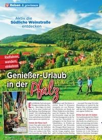 Titelbild der Ausgabe 24/2019 von Aktiv die Südliche Weinstraße entdecken: Genießer-Urlaub in der Pfalz. Zeitschriften als Abo oder epaper bei United Kiosk online kaufen.