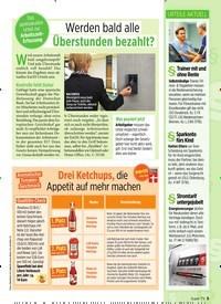 Titelbild der Ausgabe 25/2019 von Werden bald alle Überstunden bezahlt?. Zeitschriften als Abo oder epaper bei United Kiosk online kaufen.