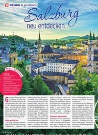 Titelbild der Ausgabe 25/2019 von Salzburg neu entdecken: Geheim-Tipps einer Insiderin. Zeitschriften als Abo oder epaper bei United Kiosk online kaufen.