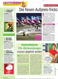 Titelbild der Ausgabe 26/2019 von Die fiesen Aufpreis-Tricks der Billig-Flieger. Zeitschriften als Abo oder epaper bei United Kiosk online kaufen.