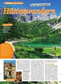 Titelbild der Ausgabe 27/2019 von Das pure Sommerglück: Hüttenwandern in Tirol. Zeitschriften als Abo oder epaper bei United Kiosk online kaufen.