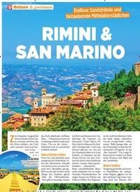 Titelbild der Ausgabe 28/2019 von RIMINI & SAN MARINO. Zeitschriften als Abo oder epaper bei United Kiosk online kaufen.