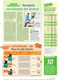 Titelbild der Ausgabe 36/2019 von Nieren-Patient forderte SchmerzensgeldL: Rehaklinik: verschlampte den Bluttest. Zeitschriften als Abo oder epaper bei United Kiosk online kaufen.