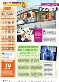 Titelbild der Ausgabe 39/2019 von ALLES INKLUSIVE – AUSSER TANKEN. Zeitschriften als Abo oder epaper bei United Kiosk online kaufen.