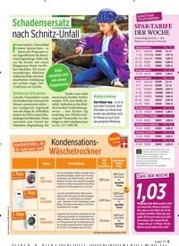 Titelbild der Ausgabe 40/2019 von Schadensersatz nach Schnitz-Unfall. Zeitschriften als Abo oder epaper bei United Kiosk online kaufen.