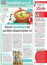 Titelbild der Ausgabe 41/2019 von Warum Sauerkraut der perfekte Abwehrstärker ist. Zeitschriften als Abo oder epaper bei United Kiosk online kaufen.