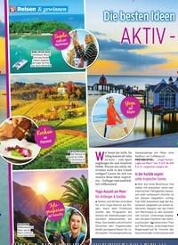 Titelbild der Ausgabe 43/2019 von Reisen & gewinnen: Die besten Ideen für Ihren: AKTIV -URLAUB. Zeitschriften als Abo oder epaper bei United Kiosk online kaufen.