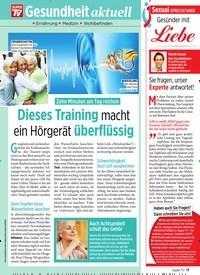 Titelbild der Ausgabe 43/2019 von Gesundheit aktuell. Zeitschriften als Abo oder epaper bei United Kiosk online kaufen.