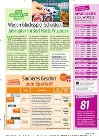 Titelbild der Ausgabe 44/2019 von Mann soll 35.000 Euro erstatten: Wegen Glücksspiel-Schulden: Jobcenter fordert Hartz IV zurück. Zeitschriften als Abo oder epaper bei United Kiosk online kaufen.