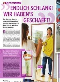 Titelbild der Ausgabe 44/2019 von Ratgeber aktuell: ENDLICH SCHLANK! WIR HABEN'S GESCHAFFT!. Zeitschriften als Abo oder epaper bei United Kiosk online kaufen.