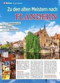 Titelbild der Ausgabe 44/2019 von Zu den alten Meistern nach FLANDERN. Zeitschriften als Abo oder epaper bei United Kiosk online kaufen.