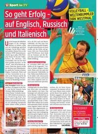 Titelbild der Ausgabe 45/2019 von So geht Erfolg - auf Englisch, Russisch und Italienisch. Zeitschriften als Abo oder epaper bei United Kiosk online kaufen.