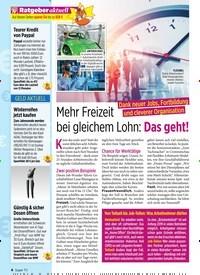 Titelbild der Ausgabe 46/2019 von Mehr Freizeit bei gleichem Lohn: Das geht!. Zeitschriften als Abo oder epaper bei United Kiosk online kaufen.