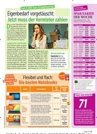 Titelbild der Ausgabe 46/2019 von Fast 8.000 Euro Schadensersatz: Eigenbedarf vorgetäuscht: Jetzt muss der Vermieter zahlen. Zeitschriften als Abo oder epaper bei United Kiosk online kaufen.