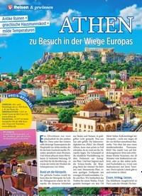 Titelbild der Ausgabe 46/2019 von ATHEN zu Besuch in der Wiege Europas. Zeitschriften als Abo oder epaper bei United Kiosk online kaufen.