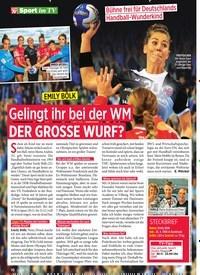 Titelbild der Ausgabe 48/2019 von Gelingt ihr bei der WM DER GROSSE WURF?. Zeitschriften als Abo oder epaper bei United Kiosk online kaufen.