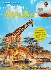 Titelbild der Ausgabe 1/2020 von Magisches Namibia. Zeitschriften als Abo oder epaper bei United Kiosk online kaufen.