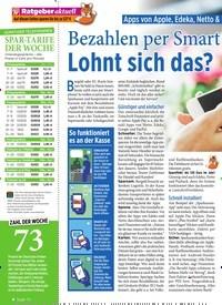 Titelbild der Ausgabe 3/2020 von Apps von Apple, Edeka, Netto & Co im Check: Bezahlen per Smartphone: Lohnt sich das?. Zeitschriften als Abo oder epaper bei United Kiosk online kaufen.