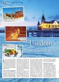 Titelbild der Ausgabe 3/2020 von Usedom – Bezaubernde Winter-Oase in der Ostsee. Zeitschriften als Abo oder epaper bei United Kiosk online kaufen.