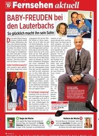 Titelbild der Ausgabe 3/2020 von Fernsehen aktuell: BABY-FREUDEN bei den Lauterbachs. Zeitschriften als Abo oder epaper bei United Kiosk online kaufen.