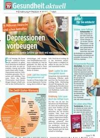 Titelbild der Ausgabe 4/2020 von Gesundheit aktuell: Depressionen vorbeugen. Zeitschriften als Abo oder epaper bei United Kiosk online kaufen.