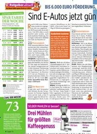 Titelbild der Ausgabe 5/2020 von BIS 6.000 EURO FÖRDERUNG, viele preiswerte Kleinwagen: Sind E-Autos jetzt gün stiger als Benziner?. Zeitschriften als Abo oder epaper bei United Kiosk online kaufen.