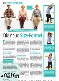 Titelbild der Ausgabe 5/2020 von Damit Rücken und Venen gesund bleiben: Die neue Sitz-Formel. Zeitschriften als Abo oder epaper bei United Kiosk online kaufen.