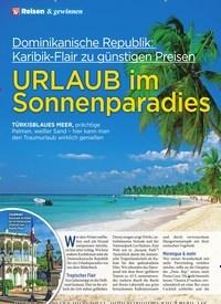 Titelbild der Ausgabe 6/2020 von URLAUB im Sonnenparadies. Zeitschriften als Abo oder epaper bei United Kiosk online kaufen.