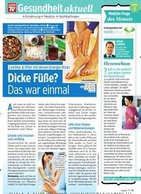 Titelbild der Ausgabe 6/2020 von Dicke Füße? Das war einmal. Zeitschriften als Abo oder epaper bei United Kiosk online kaufen.