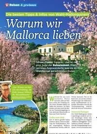 """Titelbild der Ausgabe 7/2020 von Die besten Tipps & Infos von Wahl-Mallorquinern: """"Warum wir Mallorca lieben. Zeitschriften als Abo oder epaper bei United Kiosk online kaufen."""