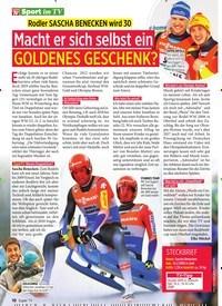 Titelbild der Ausgabe 7/2020 von Rodler SASCHA BENECKEN wird 30: Macht er sich selbst ein GOLDENES GESCHENK?. Zeitschriften als Abo oder epaper bei United Kiosk online kaufen.