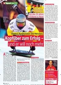 Titelbild der Ausgabe 8/2020 von Kopfüber zum Erfolg – und er will noch mehr. Zeitschriften als Abo oder epaper bei United Kiosk online kaufen.