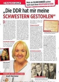 """Titelbild der Ausgabe 9/2020 von """"Die DDR hat mir meine SCHWESTERN GESTOHLEN"""". Zeitschriften als Abo oder epaper bei United Kiosk online kaufen."""