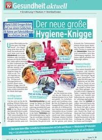 Titelbild der Ausgabe 9/2020 von Der neue große Hygiene-Knigge. Zeitschriften als Abo oder epaper bei United Kiosk online kaufen.