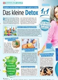 Titelbild der Ausgabe 10/2020 von Das kleine Detox. Zeitschriften als Abo oder epaper bei United Kiosk online kaufen.