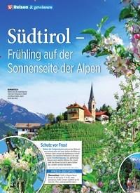Titelbild der Ausgabe 11/2020 von Südtirol – Frühling auf der Sonnenseite der Alpen. Zeitschriften als Abo oder epaper bei United Kiosk online kaufen.