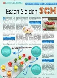 Titelbild der Ausgabe 13/2020 von Gesundheit aktuell: Essen Sie den SCH MERZ WEG. Zeitschriften als Abo oder epaper bei United Kiosk online kaufen.