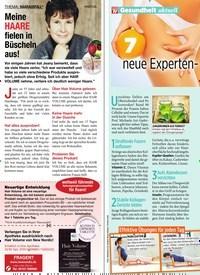 Titelbild der Ausgabe 13/2020 von Gesundheit aktuell: 7 neue Experten-Tipps gegen Orangenhaut. Zeitschriften als Abo oder epaper bei United Kiosk online kaufen.