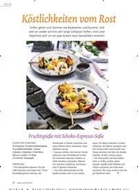 Titelbild der Ausgabe 4/2019 von Köstlichkeiten vom Rost. Zeitschriften als Abo oder epaper bei United Kiosk online kaufen.