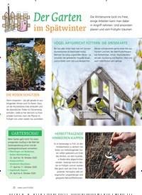 Titelbild der Ausgabe 1/2020 von Der Garten im Spätwinter. Zeitschriften als Abo oder epaper bei United Kiosk online kaufen.