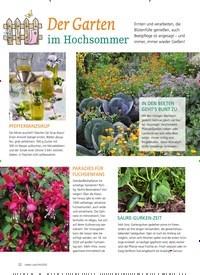 Titelbild der Ausgabe 4/2020 von Der Garten im Hochsommer. Zeitschriften als Abo oder epaper bei United Kiosk online kaufen.