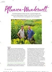 Titelbild der Ausgabe 4/2020 von Pflanzen-Wunderwelt. Zeitschriften als Abo oder epaper bei United Kiosk online kaufen.