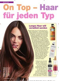 Titelbild der Ausgabe 4/2018 von BERATUNG: On Top – Haar pflege-Extras für jeden Typ. Zeitschriften als Abo oder epaper bei United Kiosk online kaufen.