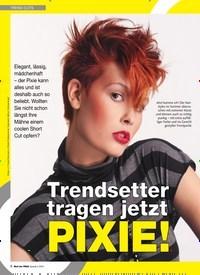 Titelbild der Ausgabe 2/2019 von TREND-CUTS: Trendsetter tragen jetzt PIXIE!. Zeitschriften als Abo oder epaper bei United Kiosk online kaufen.