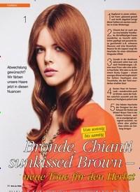 Titelbild der Ausgabe 4/2019 von FARBEN: Bronde, Chianti sunkissed Brown –neue Töne für den Herbst. Zeitschriften als Abo oder epaper bei United Kiosk online kaufen.