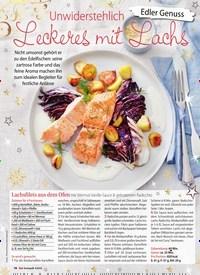 Titelbild der Ausgabe 4/2018 von Edler Genuss: Unwiderstehlich: Leckeres mit Lachs. Zeitschriften als Abo oder epaper bei United Kiosk online kaufen.