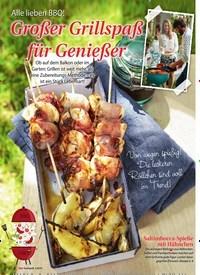 Titelbild der Ausgabe 2/2019 von Alle lieben BBQ! Großer Grillspaß für Genießer. Zeitschriften als Abo oder epaper bei United Kiosk online kaufen.