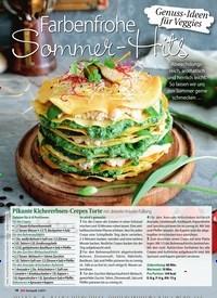 Titelbild der Ausgabe 2/2019 von Genuss-Ideen für Veggies: Farbenfrohe Sommer-Hits. Zeitschriften als Abo oder epaper bei United Kiosk online kaufen.